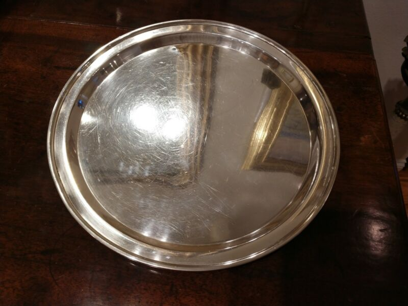 M.FRED HIRSCH COMPANY STERLING SILVER TRAY 11.5 INCH