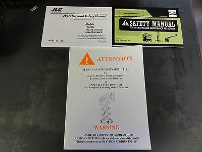 Jlg 1930es 2032es 2632es 2646es 3246es Operation And Safety Manual