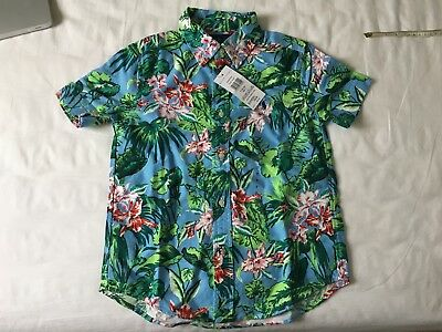 POLO Ralph Lauren BOYS Hawaiian style Shirt - 7yrs - NEW - RRP £65 outlet