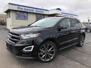 2018 Ford Edge Sport/NAV/DVD/CAM/ROOF/LEATHER