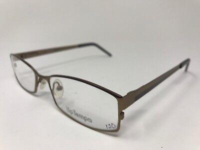 Up Tempo Eyeglasses 53-17-140 Matte Brown Light Brown LV32](Light Up Eyeglasses)