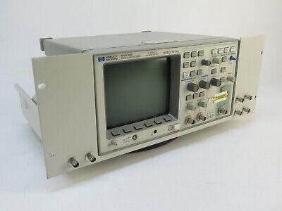 Hp Agilent 54616b 2-channel 500mhz Oscilloscope W 54657a Storage Module