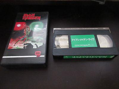 Iron Maiden Live at Rainbow Japan NTSC VHS Video 1991 Reissue Version NWOBHM