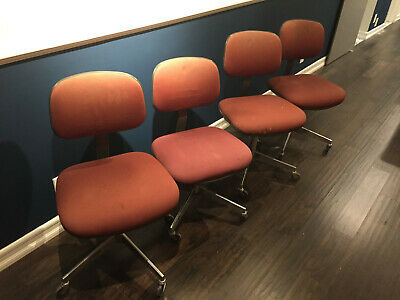 Vintage Steelcase Armless Chair