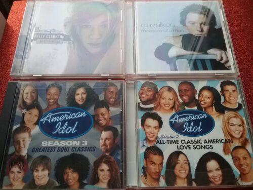 Kelly Clarkson-Breakaway/Clay Aiken-Measure Man & American Idol Season 2 & 3 CDs
