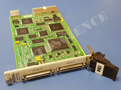National Instruments PXI-7334 Motion Controller Card, 4-Axis Stepper, PXI-7330