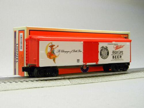 LIONEL MILLER BEER REEFER O GAUGE TRAIN freight boxcar rollingstock 1928260 NEW
