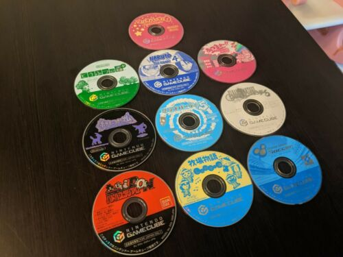 GameCube Japanese Video Game Lot of 10