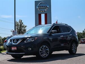 2015 Nissan Rogue SL AWD Leather Navi Sunroof FREE Delivery
