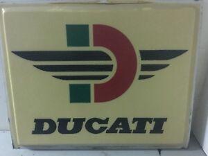 Vintage Ducati dealer sign