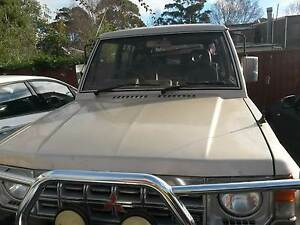 Mitsubishi Pajero bonnet gold Sydney City Inner Sydney Preview