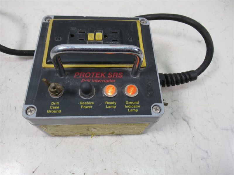 Protek SRS Drill Interrupter Power Tool Safety Device
