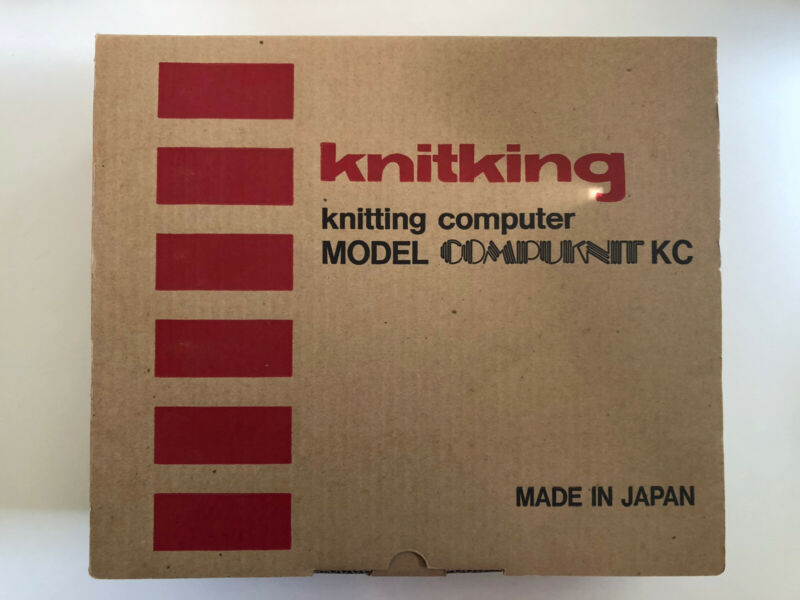 Complete Knitking Compuknit KC (Brother PPD-100) Program Pattern Device