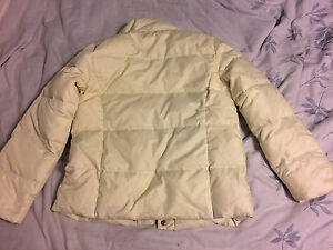 Woman's Cream Down Winter Jacket