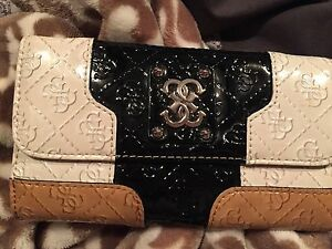 Guess Wallet (black & brown)