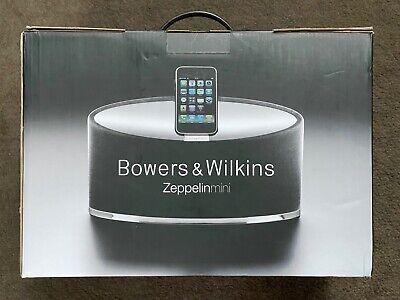 Bowers & Wilkins Zeppelin Mini Negro Altavoz + Remoto Para Ipods Y...