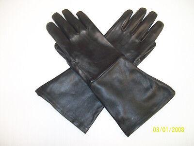 MEN'S BLACK MEDIEVAL RENAISSANCE GAUNTLET GLOVES MADE IN USA](Gauntlet Gloves)