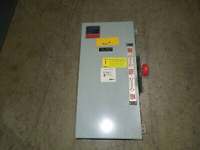 Eaton Dt361udk 30a 3p 600vac Double Throw Non-fusible Manual Transfer Switch