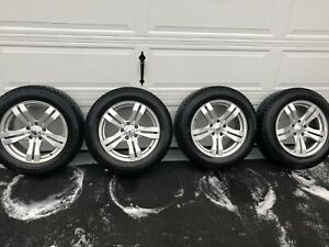 Blizzak Winter Tires on Alloy Rims (225 60 R17) BMW X3