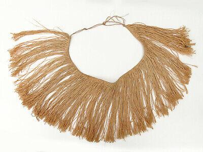 Vtg. Oceanic Palm Fiber Raffia Skirt South Seas Pacific Island Tribal