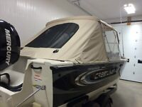 Custom boat tops, storage covers, enclosures , repairs
