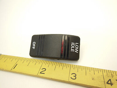 Carling Rocker Switch Cover Low Idle