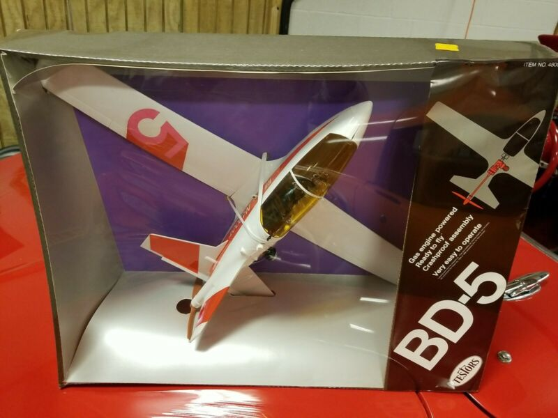 RARE NOS Testor 049 BD-5 James Bond Gas Powered Airplane. Mint condition!!!!