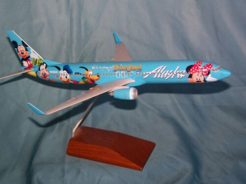 ALASKA AIRLINES  737- 900 1:130 WERE GOING TO DISNEYLAND  SKYMARKS - EXECUTIVE
