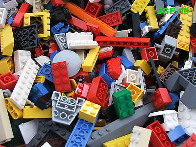 Lego ¼ kg Kilo 250g Assorted Bulk Bricks Parts Pieces Starter Set Genuine Clean
