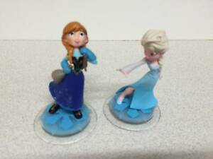 FROZEN Disney Infinity Figures - ANNA & ELSA - Cake Toppers Nundah Brisbane North East Preview