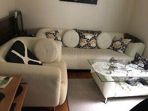 3 pc sofa set  and 4 pc light