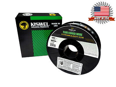 Kiswel E71t-1c1m .045 In. Dia 10lb. Flux Cored Welding Wire Made In Usa