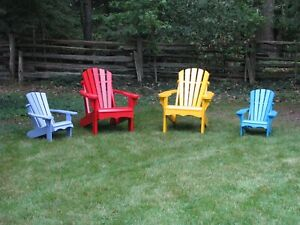 Muskoka Chairs and Maple Syrup