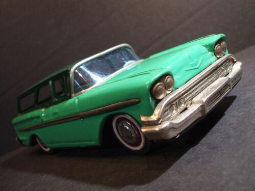 Bandai 1958 Chevy Bel Air STATION WAGON Impala Biscayne Brookwood Chevrolet
