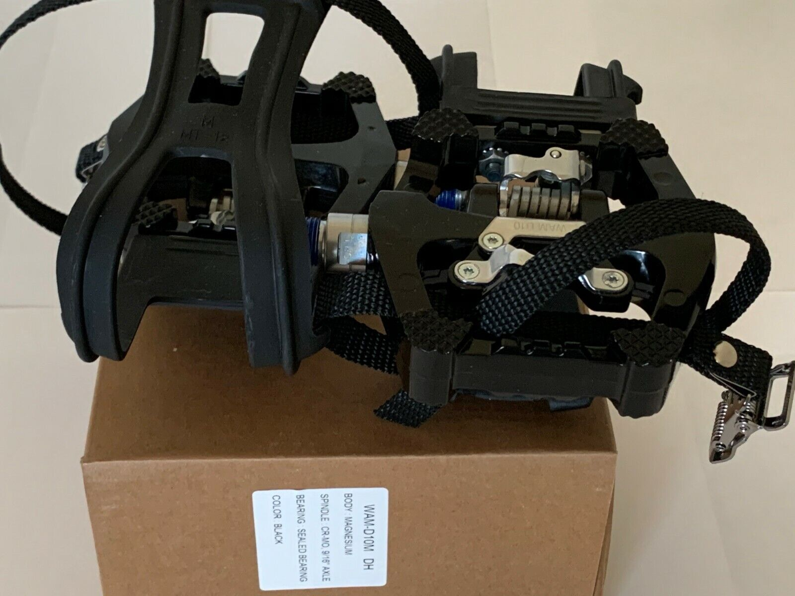 New Stages RPS Pedal Set indoor Cycle SPIN Bike Pedals W/SPD