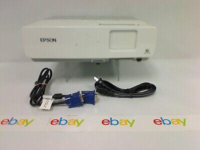 Epson PowerLite 822+ EMP-822H Projector 3LCD XGA 2600 Lumens W/ 1570 Lamp Hrs
