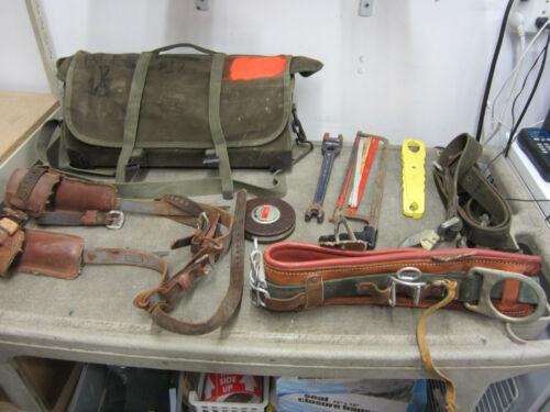Buckingham Utility Lineman Climbing Equipment Gear Spikes Pole Belt 38 #1