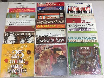 Collection Of 24 Vinyl Big Band And Classical Records