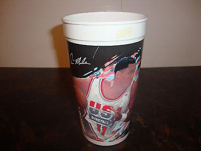 McDonald's---Karl Malone---Collector Cup #6---1992 USA Basketball