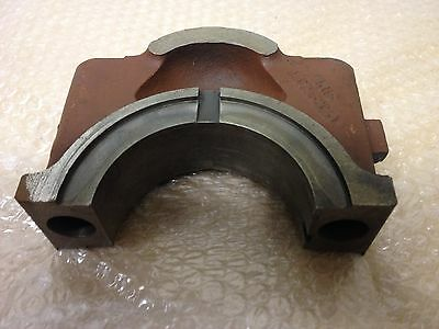 GENUINE LISTER HR HRW 4&6cyl CRANKSHAFT MAIN BEARING CAP (GOOD USED) 354-50251