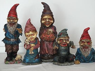gartenzwerg,horror,zombie,5 - Zombie Gartenzwerge