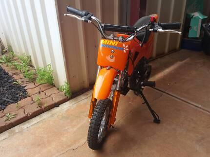 Mini Dirt Bike Kid Motorbike 49ccTrail Bike Pee Wee Pocket Rocket Craigmore Playford Area Preview