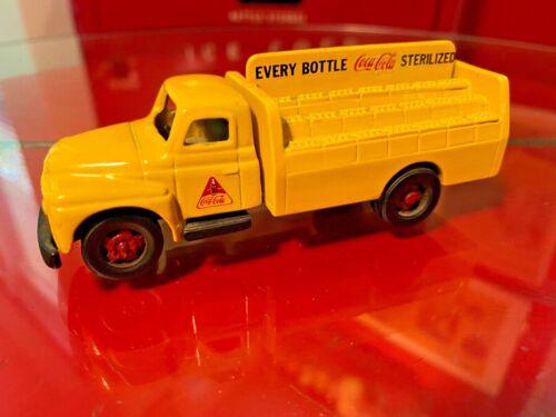 Coca Cola 1980s Nostalgic Miniatures Die-Cast Metal Toy Truck Westboro Mass