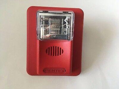 Gentex Hs24-1575wr Commnader Fire Alarm Hornstrobe Red