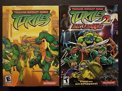 Teenage Mutant Ninja Turtles 1 & 2 Battlenexus (Windows PC, 2003 2004) (Teenage Mutant Ninja Turtles Pc Game 2003)