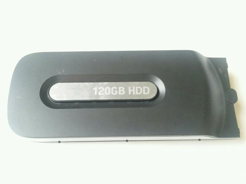 Official Microsoft Xbox 360 120GB External Hard Drive, HDD (Color Black, OEM)