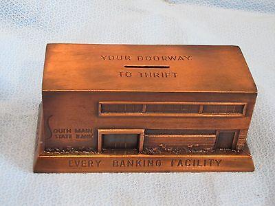 Banthrico  South Main State Bank Houston  Texas Souvenir Building Bank