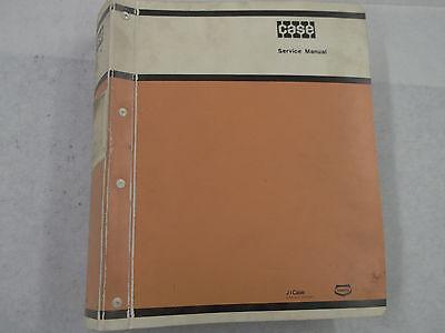 Case Model 1700 Uni-loader Skid Steer Service Manual