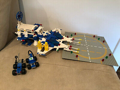 Vintage 1983 Lego #6980 Classic Space Galaxy Commander Set: 100% Complete