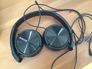 Sony MDRZX110NC Over-Ear Noise Cancelling Headphones (Black)